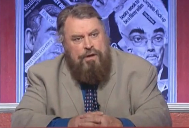 Brian Blessed presenting Have I Got News for You