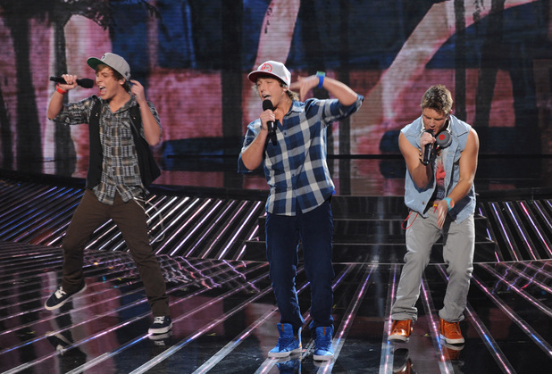 The X Factor USA, Nov 7 - Emblem3