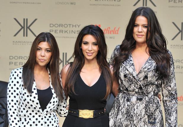 The Kardashian Sisters launch their Kardashian Kollection at Westfield London.