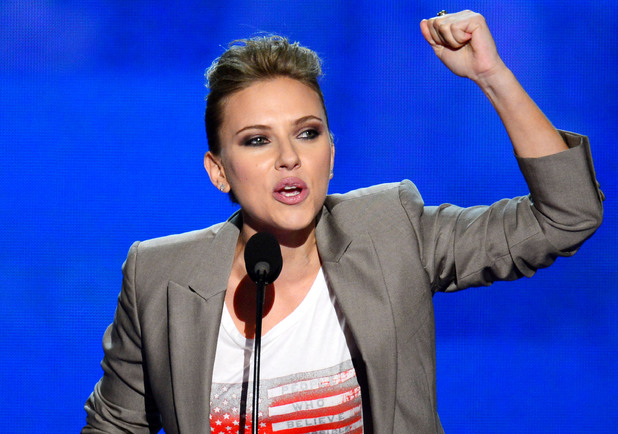 Scarlett Johansson, Barack Obama