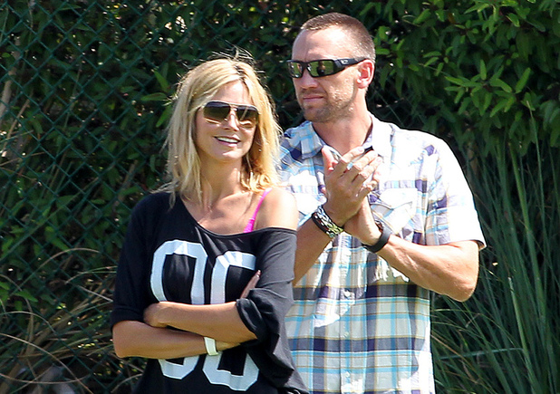 Heidi Klum and new boyfriend Martin Kristen