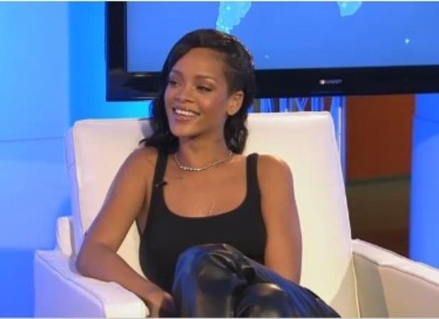 Rihanna Facebook Live interview