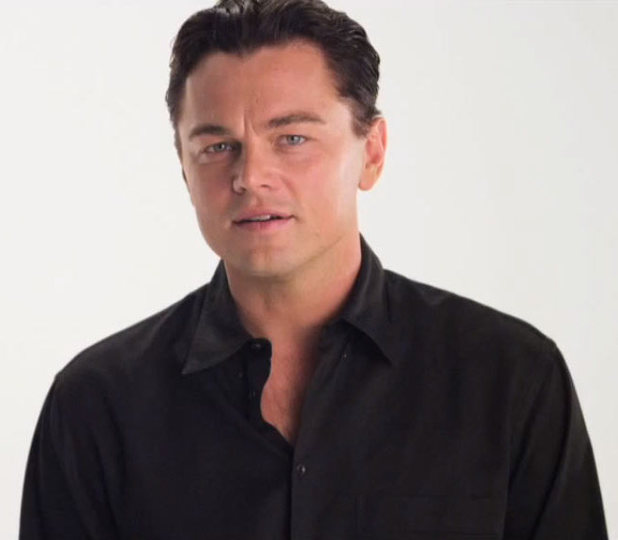 Leonardo Di Caprio appearing in a new PSA for political group Vote4Stuff