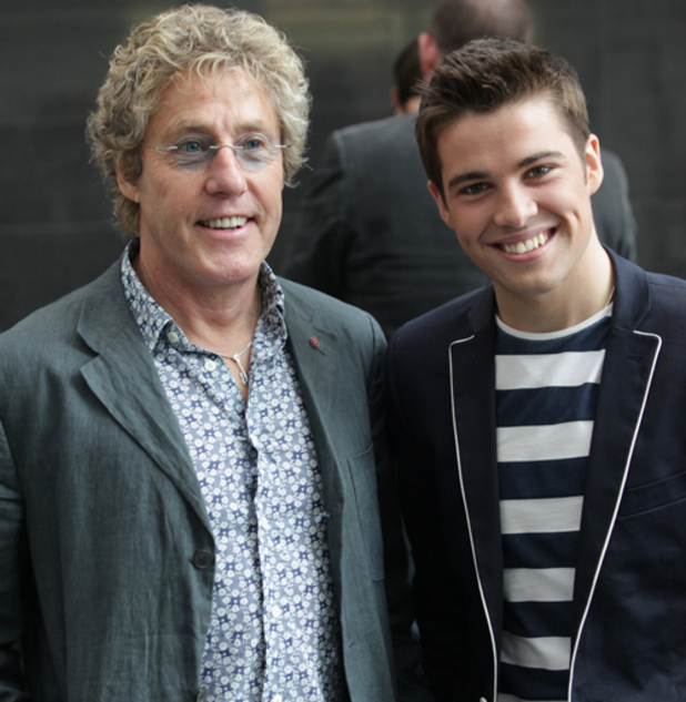 Joe McElderry with Roger Daltrey launch the one-off production of 'Tommy'.