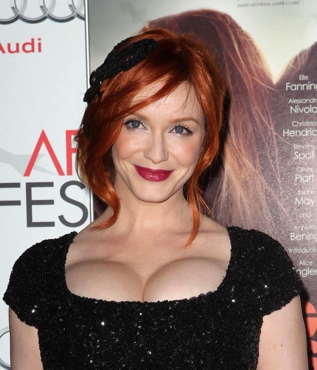Christina Hendricks AFI FEST - 'Ginger & Rosa' Special Screening held at Grauman's Chinese Theatre - Arrivals
