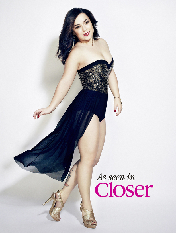 Dani Harmer shows off her glamorous new look in this week's Closer magazine