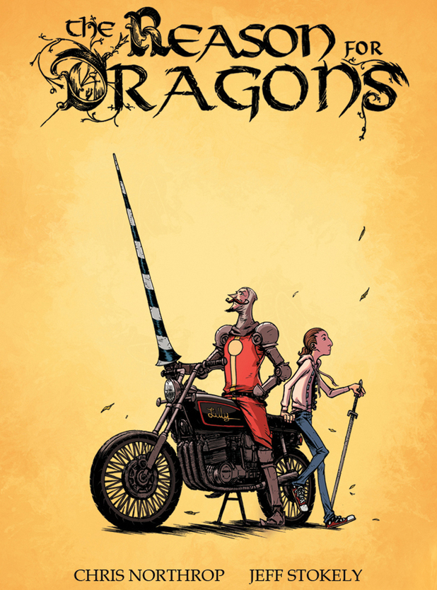 &#39;The Reason for Dragons&#39; cover