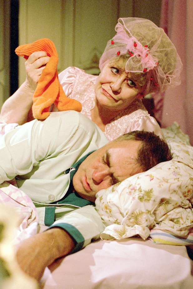 Liz Dawn and Bill Tarmey