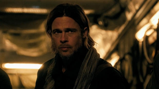 Brad Pitt faces a zombie pandemic in 'World War Z'.