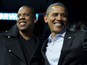 Jay Z raps about Romney at rally - watch