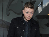 X Factor contestant James Arthur leaving a dance studio.
