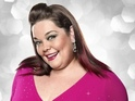 Lisa Riley says her trousers fell down during training for the Viennese waltz.