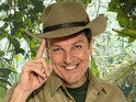 Comedian forced to exit jungle after falling ill, as family fly out to support him.