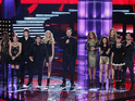 Ten of the Top 20 singers perform in the first live rounds of the competition.
