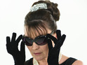 Lorraine Kelly dresses as Audrey Hepburn for her LBD diet launch.