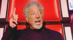 Tom Jones shows the other The Voice judges who's boss