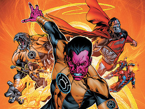 Green Lantern Sinestro Corps War