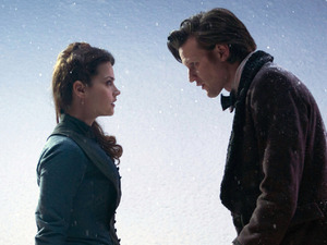 Doctor Who Christmas Special: Jenna Louise Coleman and Matt Smith