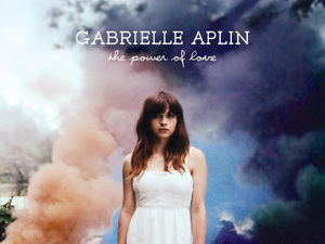 Gabrielle Aplin 'The Power of Love' single artwork.