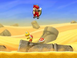 'New Super Mario Bros. U' screenshot