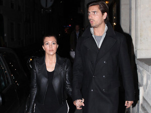Kourtney Kardashian and Scott Disick shopping in the most luxurious areas of Paris. Paris, France - 13.11.12 **Available for publication in the UK & USA only. Not for publication in the rest of the world** Credit: WENN.com