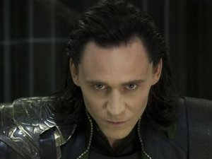Tom Hiddleston as Loki in &#39;Avengers Assemble&#39;