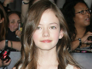 Mackenzie Foy at the premiere of 'The Twilight Saga: Breaking Dawn - Part 2' at Nokia Theatre L.A. Live