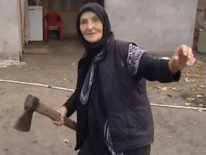 The Russian grandma who killed a wolf with bare hands