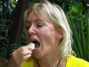 I&#39;m a celebrity 13/11/12: Bushtucker Trial, Rotten Rhymes - Helen Flanagan and Nadine Dorries 