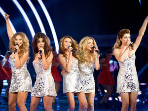 Strictly Come Dancing: Wembley Results Show: Girls Aloud perform