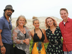 David Haye, Linda Robson, Helen Flanagan, Charlie Brooks and Brian Conley