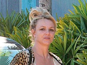 Britney Spears leaving dance studio in Santa Monica, LA.