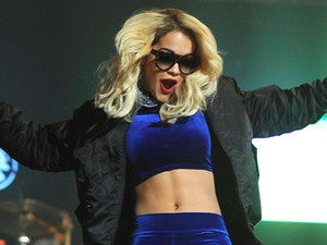 Rita Ora performing at BBC Radio 1Xtra Live 2012 at Manchester Apollo Manchester, England
