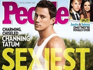 Channing Tatum named People magazine's Sexiest Man Alive 2012