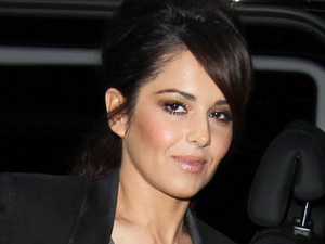 Cheryl Cole of Girls Aloud at the BBC Radio 1 Studios
