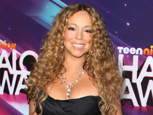 Mariah Carey arrives for Nickelodeon's 2012 TeenNick HALO Awards,