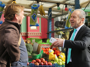 Eastenders and Children in Need: The Walford Apprentice - Ian Beale (Adam Woodyatt) and Lord Sugar