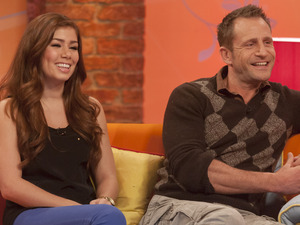 Nikki Sanderson and Jeremy Sheffield on 'Lorraine Live'
