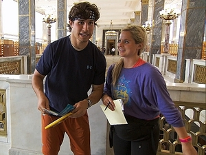 The Amazing Race (11/11/2012) 'Off to See the Wizard' - Trey and Lexi