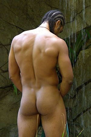 David Haye, naked, shower, I'm a celebrity