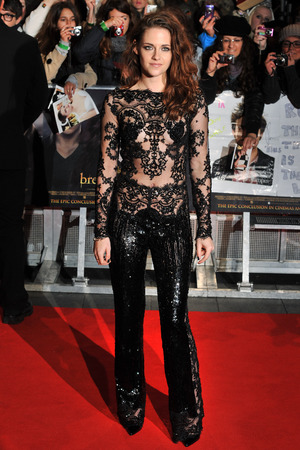 Kristen Stewart The Twilight Saga: Breaking Dawn 2 European Premiere held at the Empire, Leicester Square - Arrivals. London, England