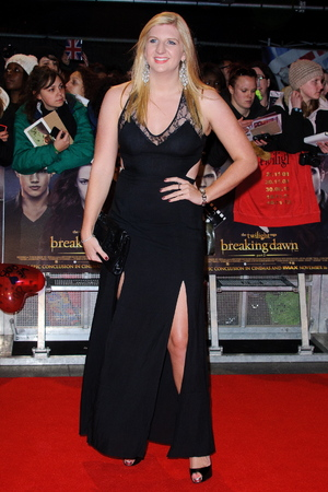 Rebecca Adlington The premiere of 'The Twilight Saga: Breaking Dawn - Part 2'  held at the Odeon, Leicester Square - Arrivals. London, England