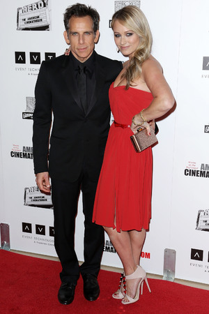 26th American Cinematheque Award Gala honoring Ben Stiller at The Beverly Hilton Hotel Featuring: Ben Stiller,Christine Taylor Where: Beverly Hills