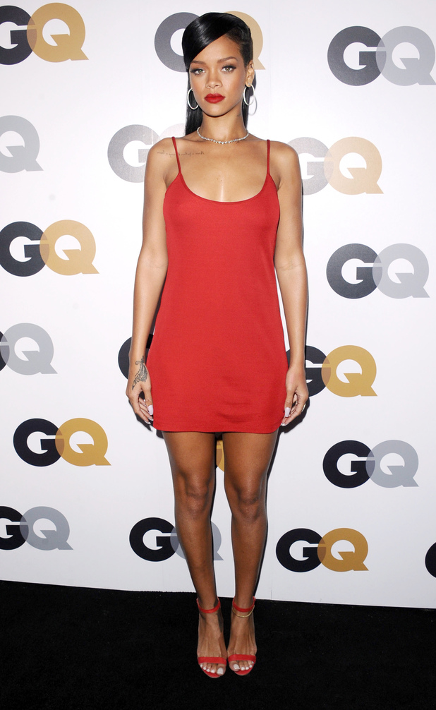 Rihanna, GQ Men of the Year 2012