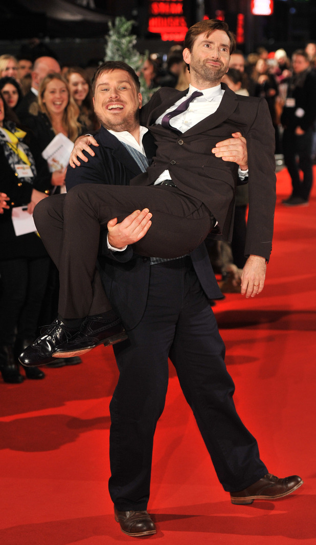 David Tennant and Marc Wootton
