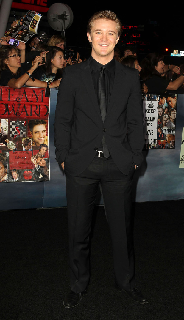 Twilight: Breaking Dawn - Part 2 world premiere: Michael Welch