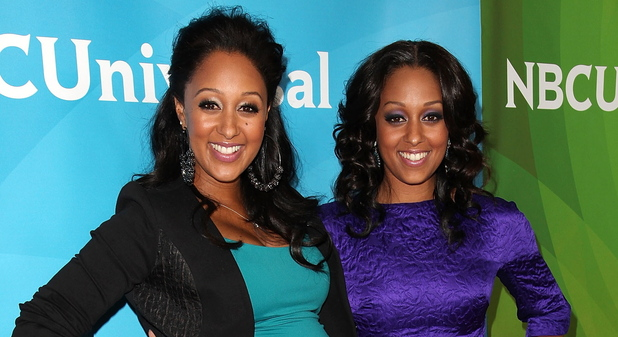 Tamera Mowry-Houseley and Tia Mowry Hardrict NBC Universal Press Tour at Beverly Hilton Hotel - Day 2 Beverly Hills, California - 25.07.12 Mandatory Credit: Brian To/WENN.com