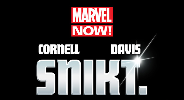 Marvel NOW! Wolverine snikt teaser