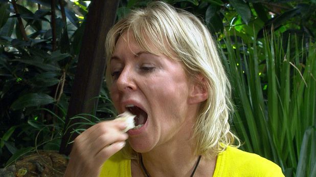I'm a celebrity 13/11/12: Bushtucker Trial, Rotten Rhymes - Helen Flanagan and Nadine Dorries