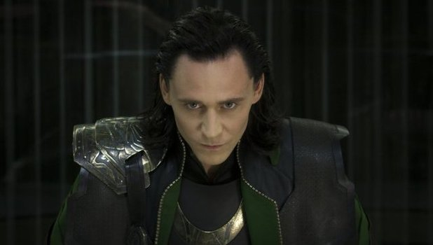 Tom Hiddleston as Loki in 'Avengers Assemble'